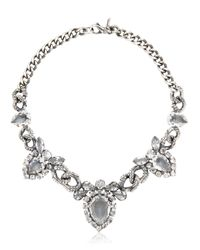 Emanuele Bicocchi - Metallic Swarovski Crystal Necklace - Lyst