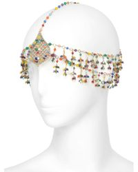 Rosantica Metallic L'odalisca Headpiece