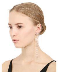 Colette - Pink Flower Duster Mono Earring - Lyst