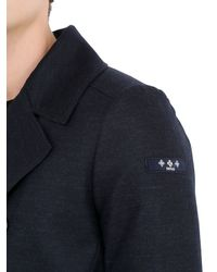 Tatras Blue Atelier Cavaione Wool Blend Jacket