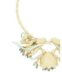 EK Thongprasert | Yellow Ikebanana Flower Silicone Necklace | Lyst