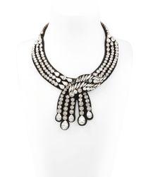 Shourouk Legend Black Necklace