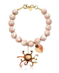 Valentina Brugnatelli | Margherita Pink Necklace | Lyst