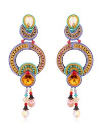 Dori Csengeri | Multicolor Happy Earrings | Lyst