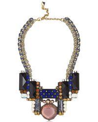 Nocturne Blue Bruna Necklace