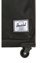 Herschel Supply Co. Black 34l Highland Nylon Carry On Trolley