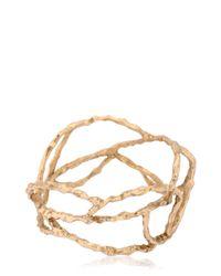 Voodoo Jewels Metallic Reptilia Maxi Bangle Bracelet