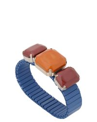 Isabel Marant | Blue Color Block Bracelet | Lyst