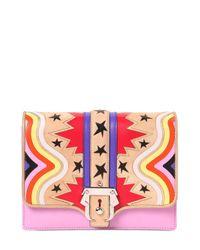 Paula Cademartori | Pink Tatiana Leather Shoulder Bag | Lyst