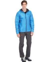 Mountain Hardwear Blue Ghost Whisperer Hooded Down Jacket for men