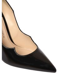 Paul Andrew - Black 105mm Zenadia Brushed Leather Pumps - Lyst