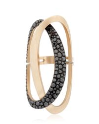 Antonini - Black & White Ring - Lyst