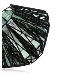 Vojd Studios | Black 3d Printed Cage Cuff | Lyst
