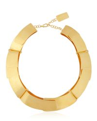 Herve Van Der Straeten | Metallic Pliage Necklace | Lyst
