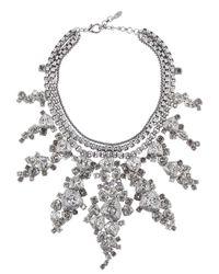 On Aura Tout Vu - Black Patina Necklace - Lyst