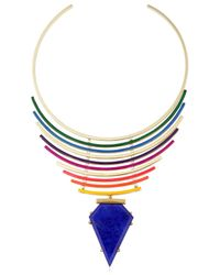Gemma Redux - Multicolor Color Bleed Necklace - Lyst