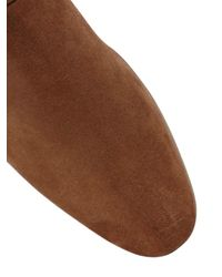 Pete Sorensen | Brown Suede Cropped Boots for Men | Lyst