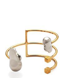 Caterina Zangrando | Metallic Ace Cuff Bracelet | Lyst