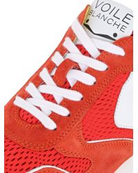 Voile Blanche Red Liam Suede & Mesh Sneakers for men