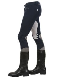 Dainese Multisport Blue Equestrian Cigar Riding Pants