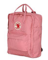 Fjallraven - Pink 16l Kanken Nylon Backpack - Lyst
