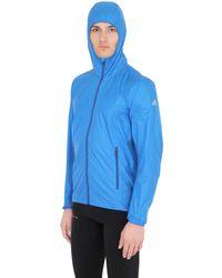 Adidas Originals Blue Mistral Light Packable Nylon Windbreaker for men