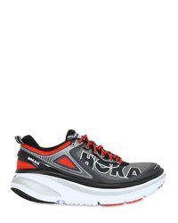 Hoka One One | Red Bondi 4 Running Sneakers for Men | Lyst