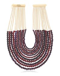 Rosantica | Purple Raissa Beaded Multi-strand Necklace | Lyst