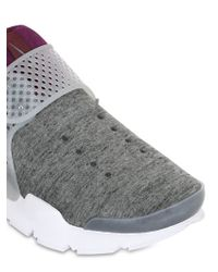 Nike - Gray Lab Sock Dart Fleece Sneakers - Lyst