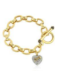Juicy Couture | Metallic Juicy Signature Statements Bracelet | Lyst