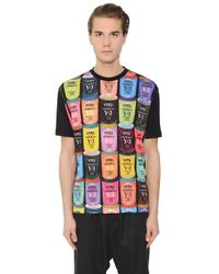 Y-3 | Multicolor Logo Tin Cans Printed Cotton T-shirt for Men | Lyst