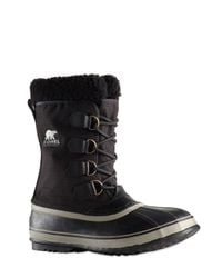 Sorel | Black 1964 Pac Waterproof Nylon Winter Boots for Men | Lyst