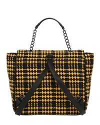 Vivienne Westwood - Green Derby Plaid Leather Bag - Lyst