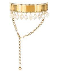 Shourouk Metallic Tabatha Necklace