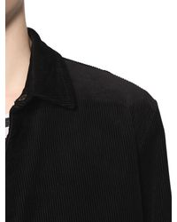 Cheap Monday - Black Cotton Corduroy Jacket for Men - Lyst