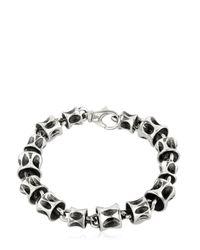 Cantini Mc Firenze - Metallic Cobra Spine Articulated Bracelet - Lyst