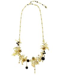 Les Nereides | Metallic Vegetation Doree Necklace | Lyst
