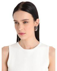 Mawi - Black Ball Breaker Earrings - Lyst