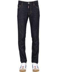 DSquared² | Black 16.5cm Cool Guy Brut Stretch Denim Jeans for Men | Lyst