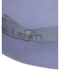 Borsalino Multicolor Folar Qs Smooth Fur Felt Large Brim Hat