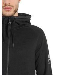 Nike Black International Hooded Zip-up Sweatshirt for men