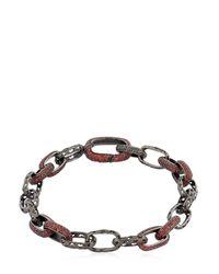 Marco Ta Moko | Red The Warrior Fire Sapphires Bracelet for Men | Lyst