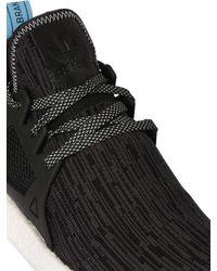 Adidas Originals - Black Nmd Xr1 Primeknit Sneakers for Men - Lyst