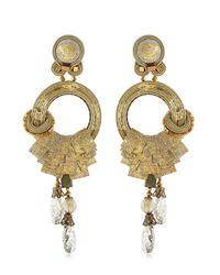 Dori Csengeri | Metallic Camelot Earrings | Lyst