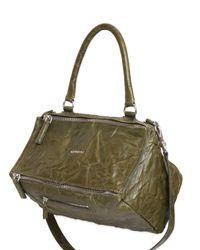 Givenchy | Green Medium Pandora Washed Leather Bag | Lyst