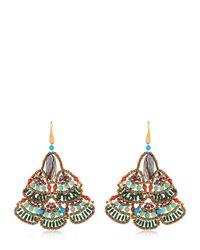 Ziio | Multicolor Naga Earrings | Lyst