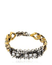 Iosselliani | Metallic Optical Memento Crystal Bracelet | Lyst