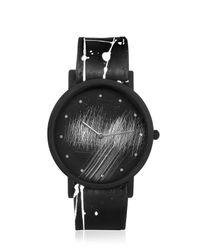 South Lane Black Avant Surface Splash Watch