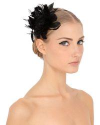 Nanà Firenze Black Feather Headband