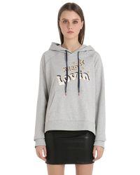 Tommy Hilfiger | Gray Gigi Hadid Cotton Terry Sweatshirt | Lyst